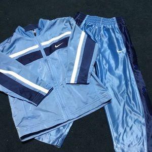Boys Nike Jacket and Snap Down Pants